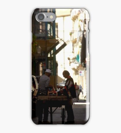 Street Vendor iPhone Case/Skin