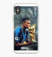Kylian Mbappe PSG iPhone Case