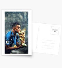Kylian Mbappe PSG Postcards