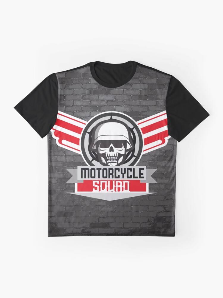 Alternate view of Motorcycle Squad Graphic T-Shirt