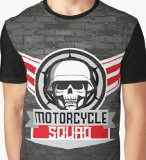 Motorcycle Squad Graphic T-Shirt