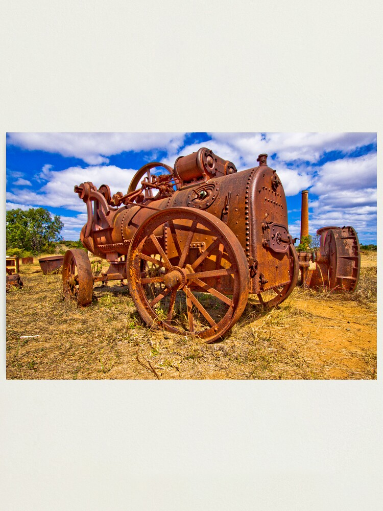 Alternate view of Rusty Steam Photographic Print