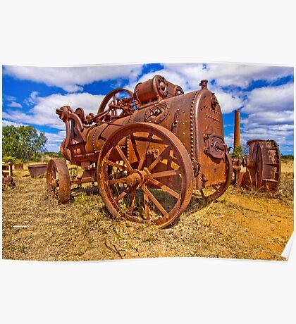 Rusty Steam Poster