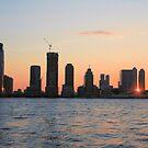 """Jersey Sunsets"" by elombowmanart"