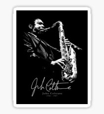 John C -Jazz-Sax-Music Sticker