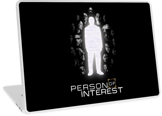 'Person of Interest Cast (Root, Shaw, Finch, Reese, Fusco and more)' Laptop  Skin by PurpleMoose