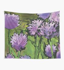 More Chives Wall Tapestry