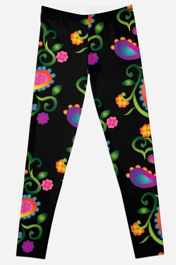 Leggings - Unique Patterns - illustration design  Leggings leggins by FallenRevol