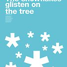 The snowflakes glisten on the tree (Snowblind, Black Sabbath) by Guilherme Pontes