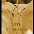 Lilly Sympathy Card by lesquirt