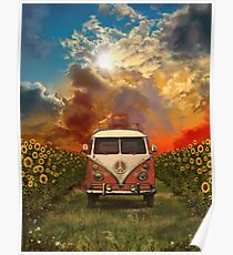 sunflowers Poster