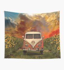 Sonnenblumen Wandbehang