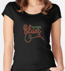 Blues Dance My passion Women's Fitted Scoop T-Shirt