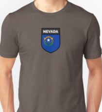 NEVADA BADGE Unisex T-Shirt