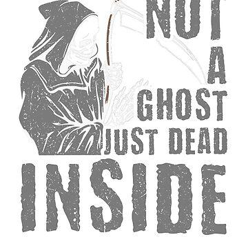 Funny Grim Reaper, Ghost, Dead Inside by Sgret