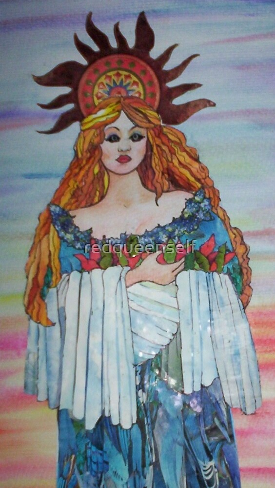 Jalapeno Madonna by redqueenself