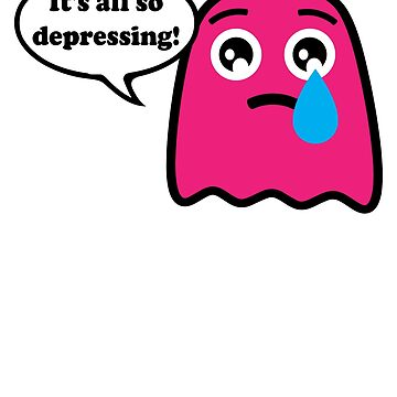 Sad Depressed Ghost by mpdesigns73