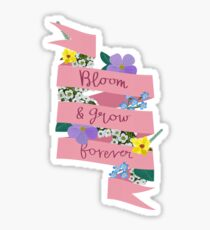 Bloom and Grow Forever Sticker