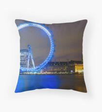 Night Eye Throw Pillow