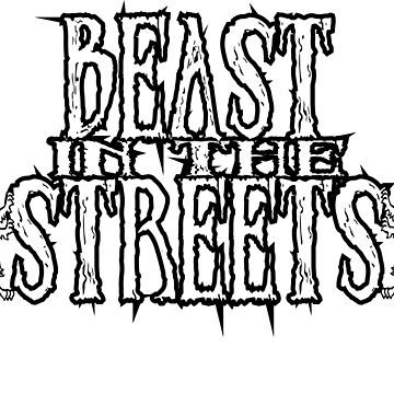Beast In The Streets Lions by mpdesigns73