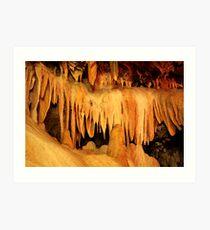 Buchan Caves Reserve Art Print