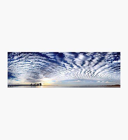 Kwinana Sky (Multi Row Panorama!)   Photographic Print
