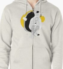 we are fiction Zipped Hoodie