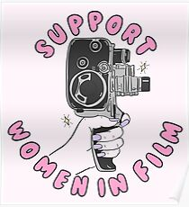 Support Women In Film Poster