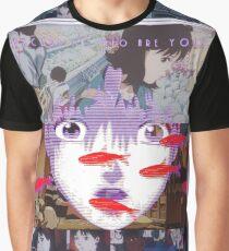 Perfect Blue Satoshi Kon Animated Film Collage Graphic T-Shirt