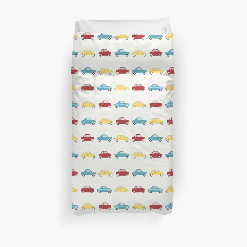 Mini Cars Duvet Cover