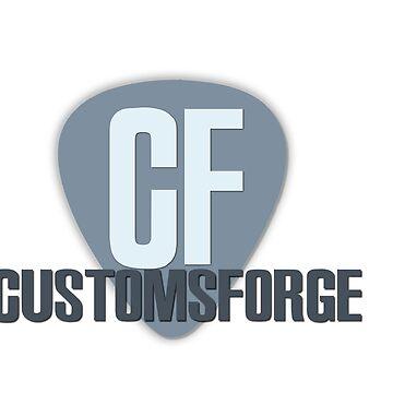 CustomsForge Logo by voyev0da