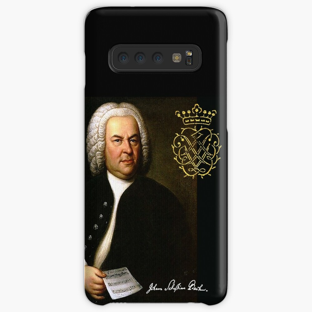 Bach with his Monogram Case & Skin for Samsung Galaxy
