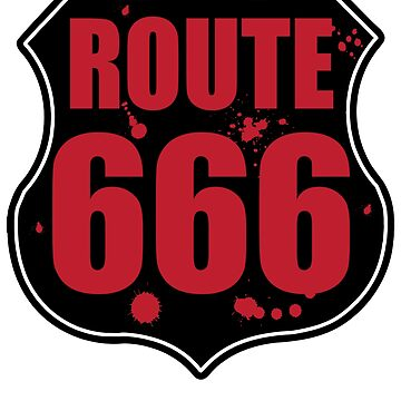 Route 666 - Highway To Horror  by mpdesigns73