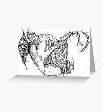 Angler Fish20 Greeting Card