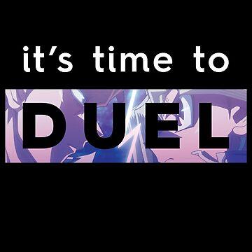 Yu-Gi-Oh! It's Time to Duel by adriannachuu
