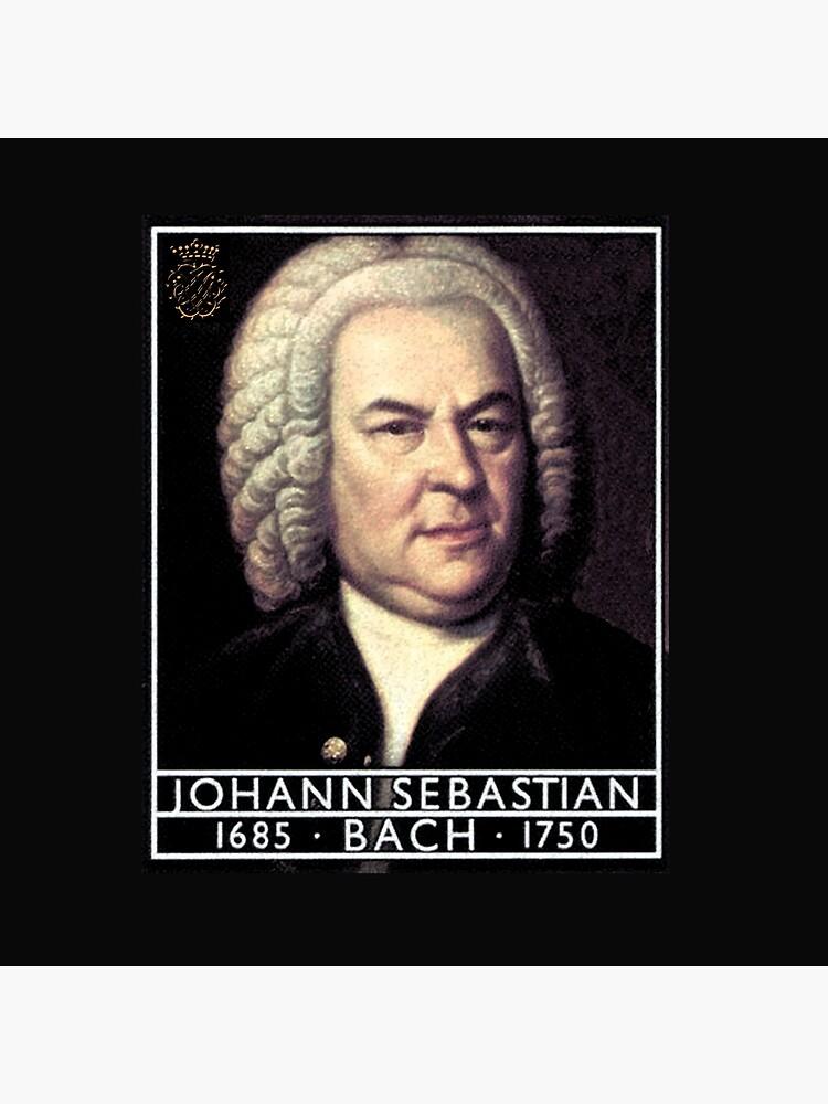 Johann Sebastian Bach, Portrait  by edsimoneit