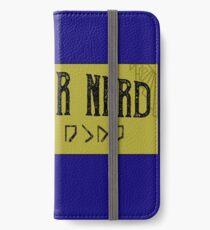 Dwemer Nerd Skyrim Elder Scrolls V iPhone Wallet/Case/Skin