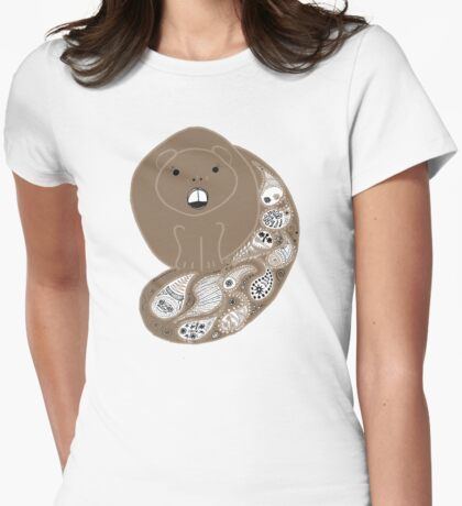 Paisley Beaver T-Shirt