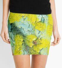 Yellow Peel Mini Skirt
