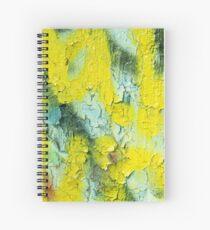 Yellow Peel Spiral Notebook