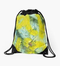 Yellow Peel Drawstring Bag