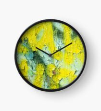 Yellow Peel Clock