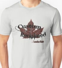 Custom Reclaimed Unisex T-Shirt