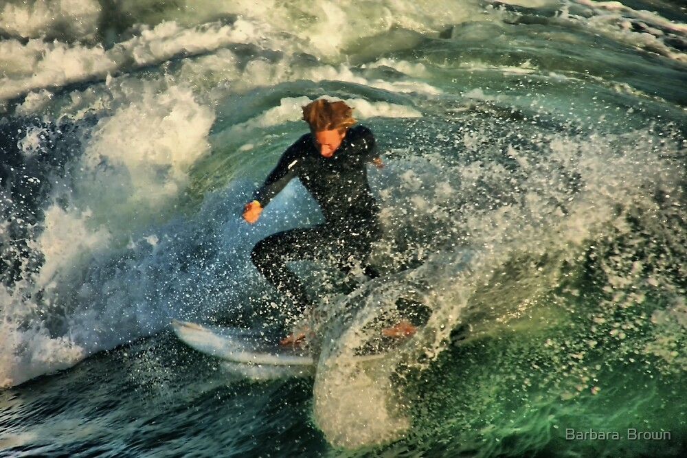 360 Surf by Barbara  Brown