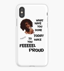 What Have You Done Today To Make You Feel Proud - Miranda Hart [Unofficial] iPhone Case/Skin