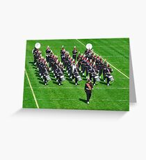 Delta Band Greeting Card