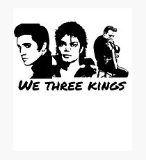We Three Kings Music Presley Jackson Cash Photographic Print