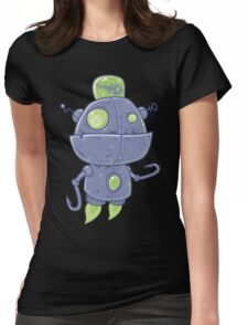 Fishing Robot Womens Fitted T-Shirt