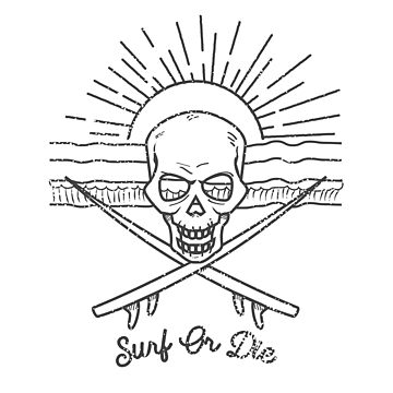 Skull Surfer by oberdoofus