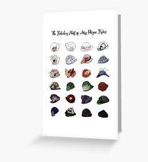 Miss Fishers fabelhafte Hüte Grußkarte